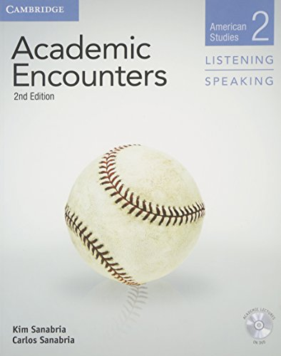 Academic Encounters Level 2 Student's Book Listening and Speaking with DVD (American Studies, Level 2)