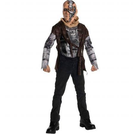 Terminator T600 Kostüm - Rubies Terminator T-600 Kinderkostüm - S-116 cm