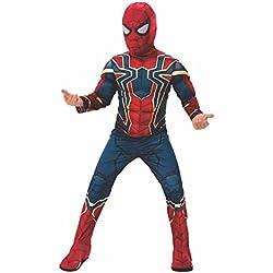 Disfraz de Iron Spider, de la películaLos Vengadores: Infinity Wars; marca Rubie's, para niños