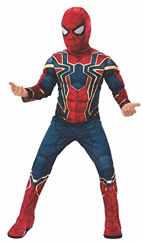Rubie' s ufficiale Avengers infinity Wars Iron Spider, Spiderman Deluxe child costume