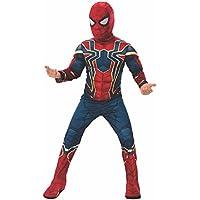 Rubies s oficial los Vengadores infinity Wars Hierro araña, Spiderman Deluxe–Niños Disfraz