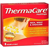Preisvergleich für Thermacare Heatwraps Neck To Arm, (Pack of 3) by ThermaCare