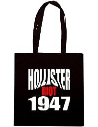 T-Shirtshock - Bolsa para la compra OLDENG00523 hollister riot 1947