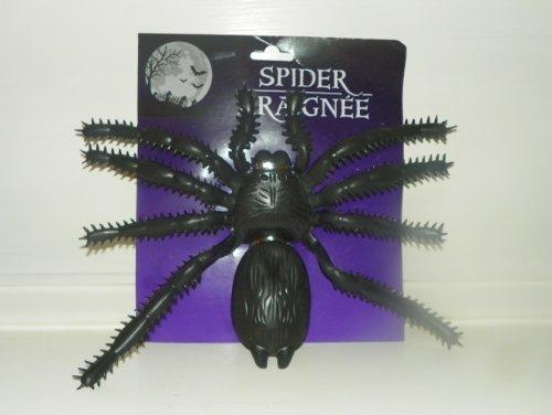 1 X Halloween Giant Plastic Spider Decoration by Spider Araignee