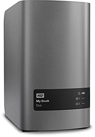 Western Digital 12TB My Book Duo Desktop RAID externe Festplatte - USB 3.0 - WDBLWE0120JCH-EESN