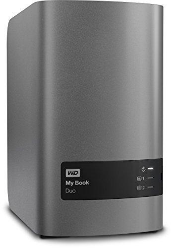 Western Digital 12TB My Book Duo Desktop RAID externe Festplatte – USB 3.0 – WDBLWE0120JCH-EESN