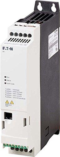 Eaton 174327 Drehzahlstarter, Einphasiger Netzanschluss, Dreiphasiger Motoranschluss bei 230 V, 1, 4 A und 0, 25 kW/ 0, 3 HP, mit integriertem emv-Filter