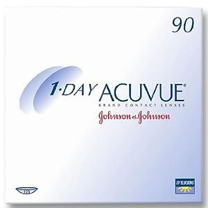 Acuvue 1 Day Tageslinsen weich, 90 Stück / BC 8.5 / DIA 14.2