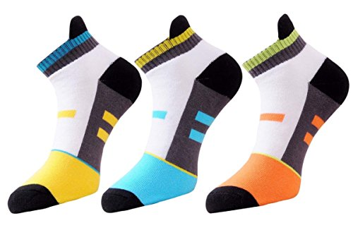 Vacalvers Multicolour Cotton Socks For Men ( Pack Of 3 )