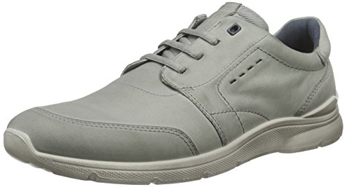 Ecco Irondale, Baskets Homme Ivoire (wild Dove02539)
