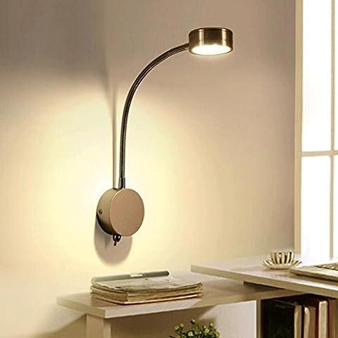 FHK,Wandleuchten LED-Leseleuchten Wandlampe Schlafzimmer den Job Schreibtische Wand minimalistisch moderne kreative Persönlichkeit Wand Dekorative Wandleuchten