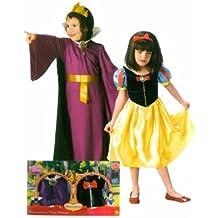 Rubies Costume Company 884984 Disfraz Blancanieves + Bruja - Talla L