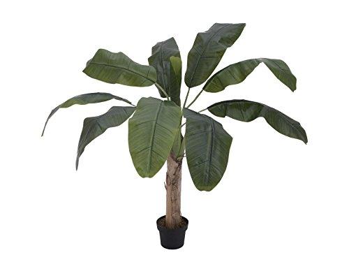 artplants Künstlicher Bananenbaum Makani, 100 cm – exotische Pflanze