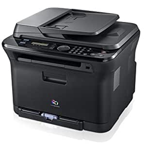 Samsung CLX-3175FW Farb-Laser-Multifunktionsgerät (4 in 1: Drucker, Kopierer, Scanner, Fax)