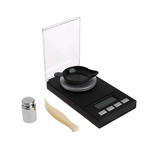 Bogji - 50g / 0.001g Mini Digital LCD Elektronische Gramm Gold Wägen Von Taschenwaage