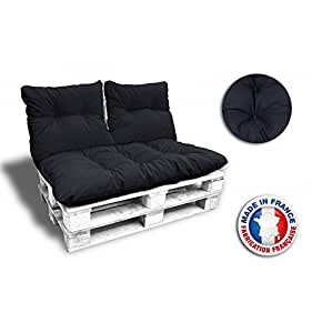 calinuit kit complet 3 coussins 1 assise 2 dossiers pour. Black Bedroom Furniture Sets. Home Design Ideas