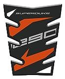 Tankpad Sticker, Protection de Reservoir Moto Autocollant en Gel compatible pour K.T.M. SuperDuke 1290 v2