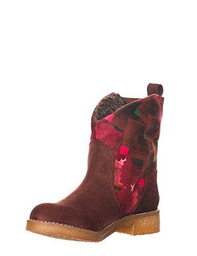 Desigual End, bottines cheville femme Marron - marron