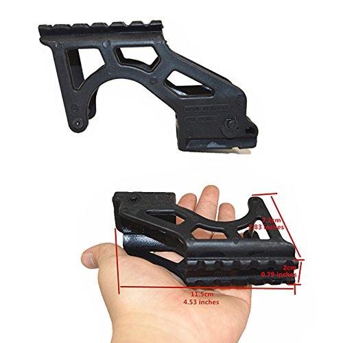 FIRECLUB Tactical Polymer Taschenlampe Pro Universal Pistole Punktvisier Halterung mit Picatinny für Glock 17192021222334Gen 3& 4