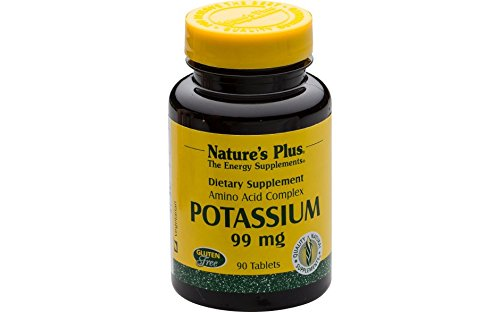Natur Plus-90 Tabletten (Natures Plus Potassium (Kalium) 90 Tabletten (8,9 g))
