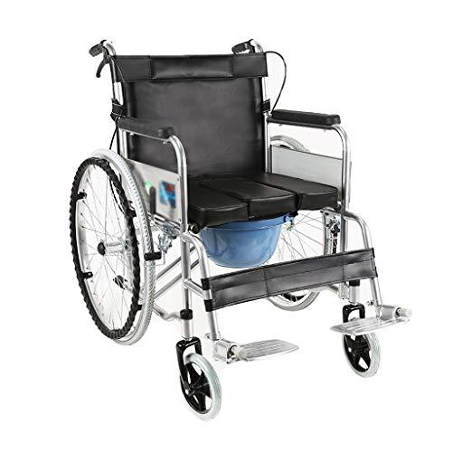 Möbelsets-LX Klappstuhl, kreative multifunktionale ältere Badezimmer Rollstuhl tragbare ältere behinderte Reise Karren Roller