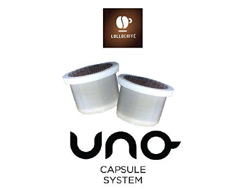200 Cialde Capsule Caffe Compatibile Uno System Indesit Kimbo Illy Espresso Kap Lollo Miscela Nero