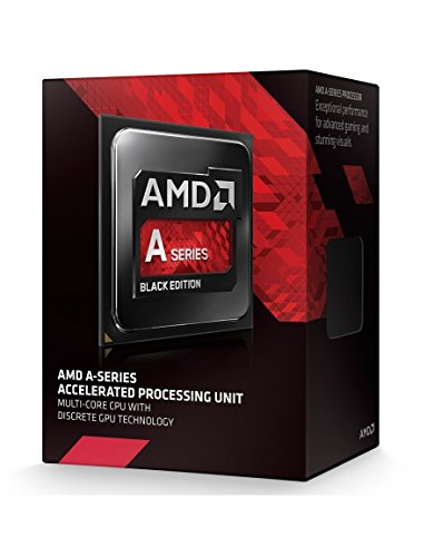 AMD A10 X4 7870K FM2+ Processore, Nero