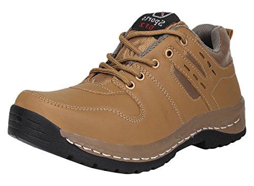 Digni lacer les chaussures Chaussures de sport hommes semi-extérieur - Choisir la taille Beige
