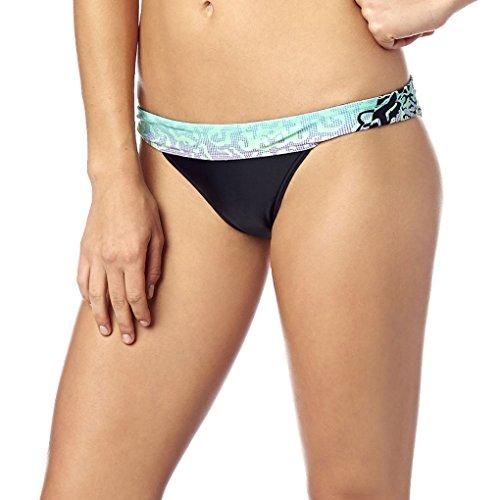 Fox - Frauen cauz Soft Bikini Botton, Medium, SeaFoam
