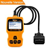 Best OBD2 Scanner - OBD2,AQV Auto Diagnostic Diagnostic Scanner OBD2 Lecteur Code Review