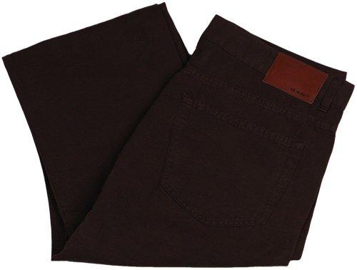 Gant Jeans da uomo pantaloni 2. Wahl, Model: TYLER, colore: marrone scuro,--, nuovo---, upe: 119.90Euro Dunkelbraun 48 IT (34W/36L)