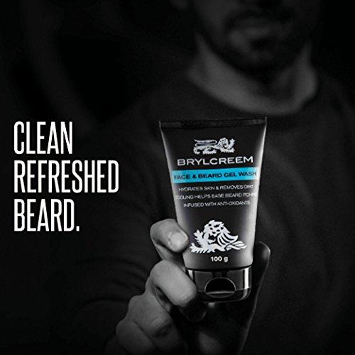 Brylcreem Face and Beard Gel Wash, 100 gm