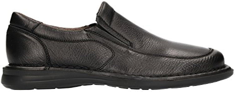 FRAU 13L5 zapatos mocasines FX hombre negro maxi comodidad XL