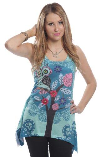 innocent-top-hoot-lace-panel-vest-blau-xl