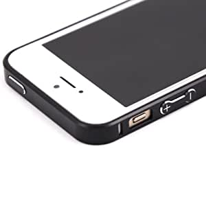 0.7mm Ultra thin Aluminum Metal Bumper Blade Case Cover Frame For iphone 5 5S - Black