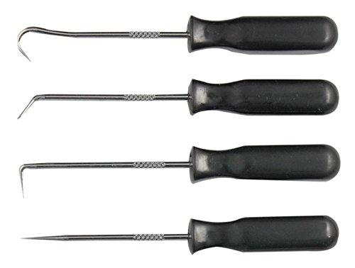 4pc Miniatur Hook Spitzhacke Schaber Set Wechsel Werkzeug O-Ringe Dichtungen Buchsen Werkzeug Kit