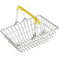 Veroda Mini Shopping Hand Basket Storage Basket Toys Orange (Small (14.5 x 10.5 x 6 cm))