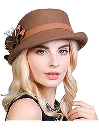 BIRAN Gorras Sombrero De Campana para Mujer Elegante Otoño Estilo Moda  Bastante Invierno Moderno Ocio Slouch f150cbd2f34