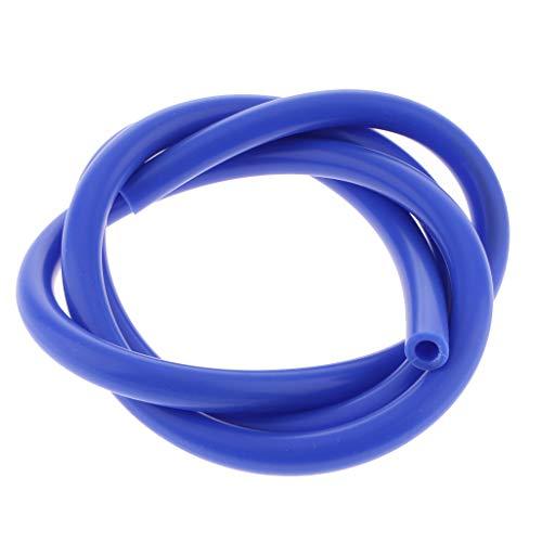 KESOTO Tuyau dair 5.32inch 4MM sous Vide en Silicone Bleu