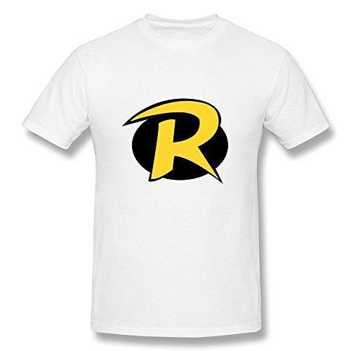 hombre-teen-titans-go-robin-logo-camiseta