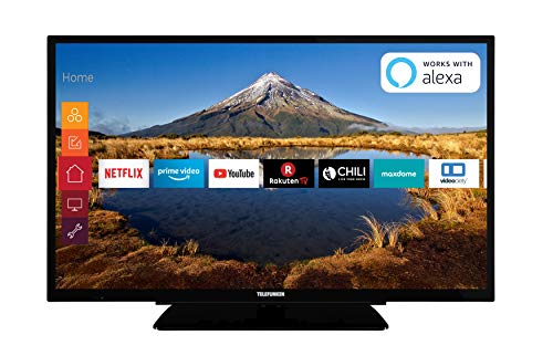 Telefunken XH32G511 81 cm (32 Zoll) Fernseher (HD ready, Triple Tuner, Smart TV, Prime Video) (Tv De 32)