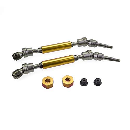 Baslinze Adapter Zubehör Spielzeug Metallfront CVD Antriebswelle 115-140mm Teil Für 1/10 Traxxas Slash-4x4 RC Auto