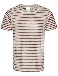 6cecf7c54801 armedangels Herren T-Shirt Aus Bio-Baumwolle - Dion Stripes - GOTS, Organic
