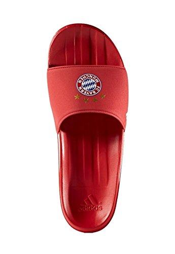adidas Herren FCB Slide Zehentrenner, Rot ftwbla/rojfcb, 36 EU