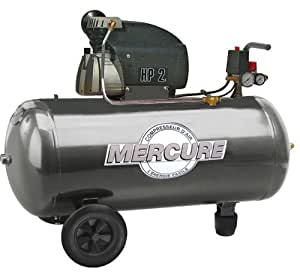 Mercure 425150 Compresseur 100 L 2 hp coax mercure