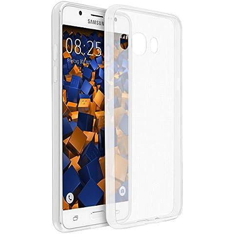 mumbi UltraSlim Hülle für Samsung Galaxy J5 (2016) Schutzhülle transparent (Ultra Slim - 0.55