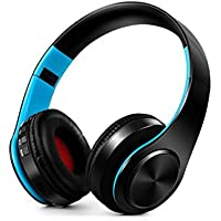 Kopfhörer Bluetooth Kopfhörer Stereo kabellos faltbar Kopfhörer Sport Support SD Card mit Mikrofon Kopfhörer für PC Phone