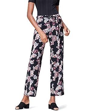 FIND Pantalón Ancho de Flores para Mujer