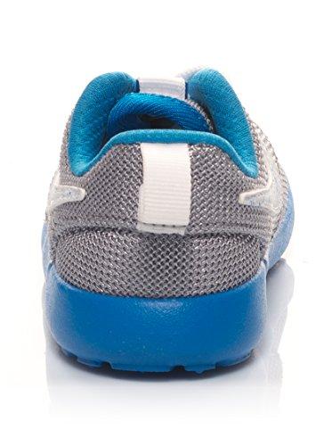 Nike - Roshe One (Ps/td), - Unisex – Bambini Argentato/Blu