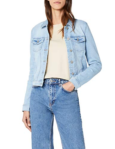 ONLY Damen Jeansjacke Onlnew WESTA Detail Jacket L.Blue NOOS, Blau Light Blue Denim, 38